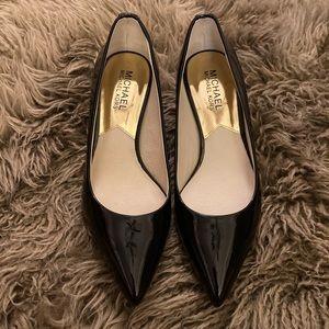 Michael Kors Shoes - Michael Kors Black Patent Leather Pumps
